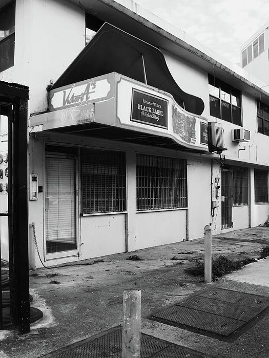San Juan Photograph - Black Label Lounge by Anna Villarreal Garbis
