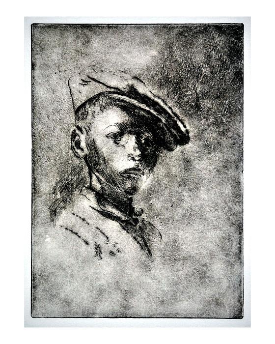 Figurative Painting - Black Pride by Wil Moore