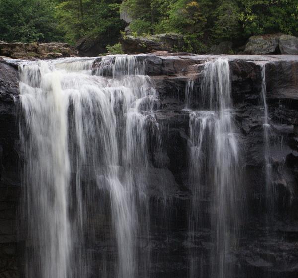 Water Photograph - Black Water Falls Wv by Jean Haynes