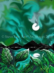 Blackpyramidsongreennile Digital Art by Steve Farr