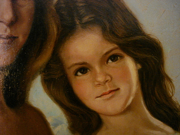 Portrait Painting - Blake At 8 by Catherine Amendola