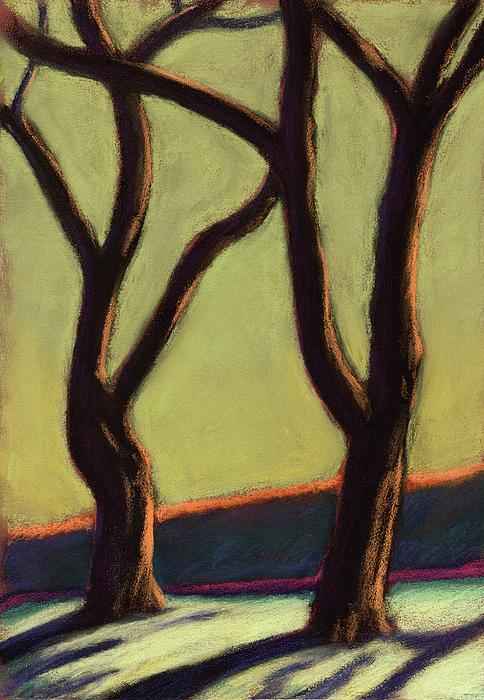 Blake Garden Drawing - Blake Gardens Two by Linda Ruiz-Lozito