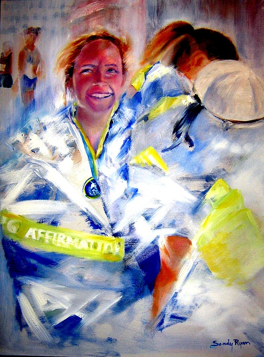 Marathon Painting - Blanketed In Pride by Sandy Ryan
