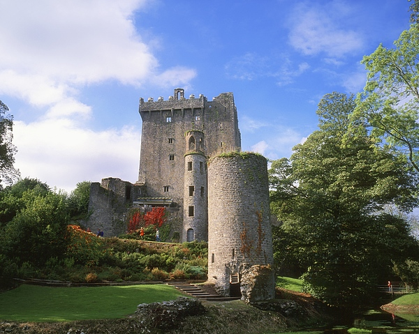 Background People Photograph - Blarney Castle, Co Cork, Ireland by The Irish Image Collection