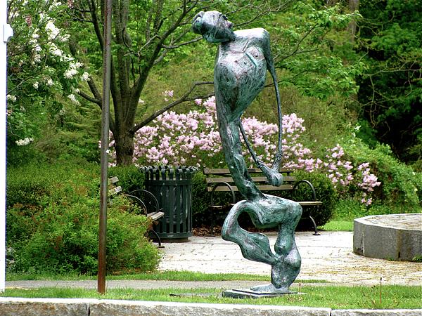 Sculpture Sculpture - Blind Faith by Al Goldfarb