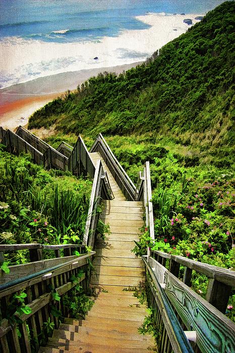 Block Island Photograph - Block Island by Lourry Legarde