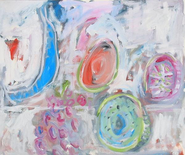 Still Life Painting - Blue Banana by Michael Henderson