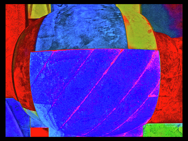 Abstracts Photograph - Blue Bowl by Bruce Iorio