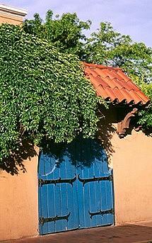 Door Photograph - Blue Door by Joy Carlsen