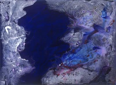 Blue Painting - Blue Hole by Bonnie Carter