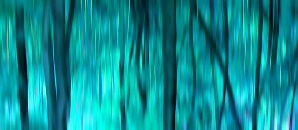 Blue Digital Art - Blue Rain Forest by Lucie Lenzket
