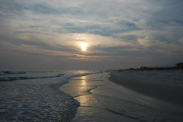 Sunset Photograph - Blue Sunset by Beverly Hammond