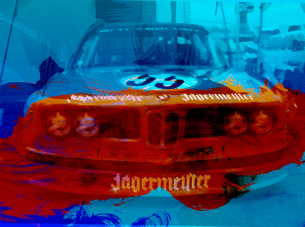 Bmw Photograph - Bmw Jagermeister by Naxart Studio