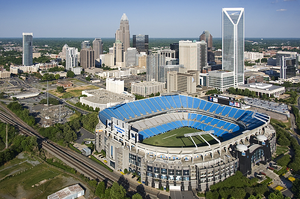 Vue Photograph - Boa Stadium In Charlotte by Clear Sky Images