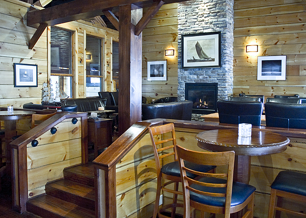 Restaurant Photograph - Boathouse Restaurant by Michael Rutland