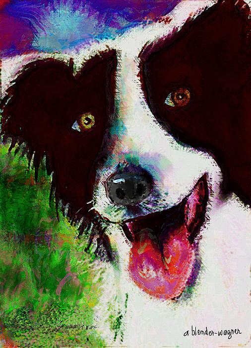 Dog Digital Art - Bob by Arline Wagner