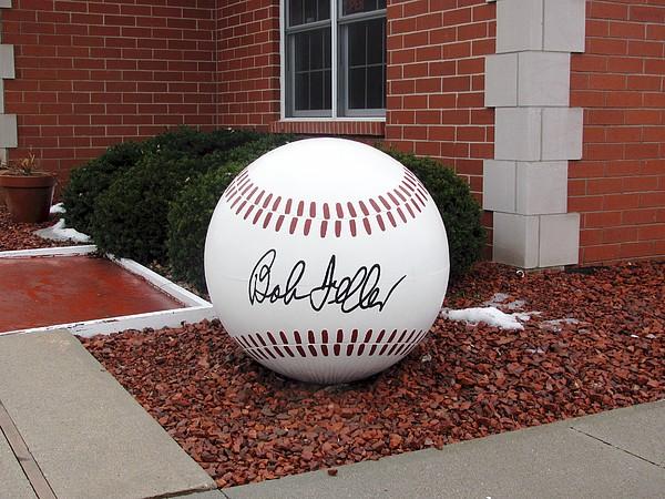 Baseball Photograph - Bob Feller Museum by Jerry Browning