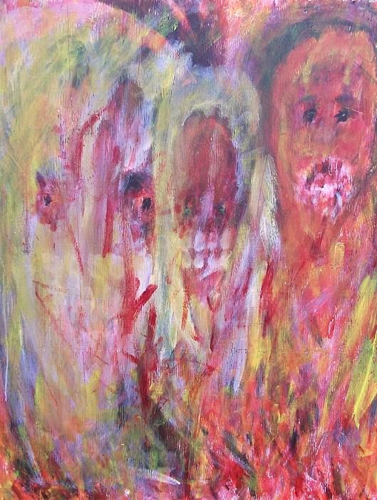 Vampire Painting - Bobby by Randall Ciotti