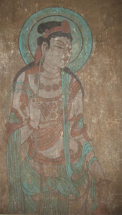 Bodhisattva    Painting by Zhicheng Zang