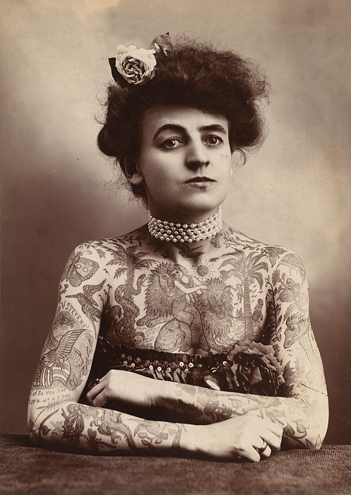 Tattoo Photograph - Body Art by Classic Images