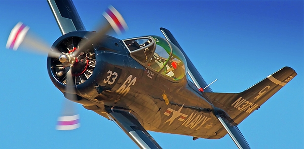 Airplane Photograph - Boeing North American T-38 Race 66 Reno Air Races 2010 by Gus McCrea
