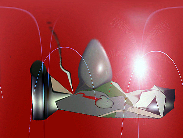 Artwork Digital Art - Boll by Aline Pottier  Gama Duarte