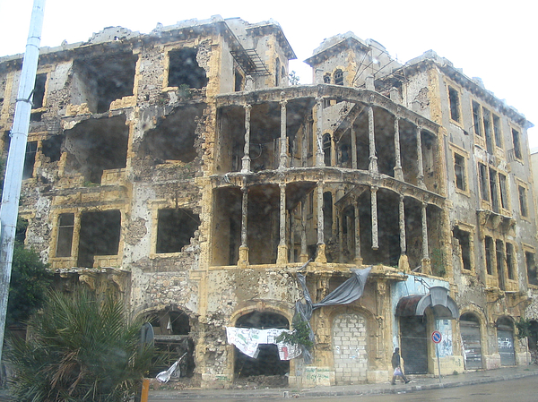Bomb Photograph - Bombed Out by Yvonne Ayoub
