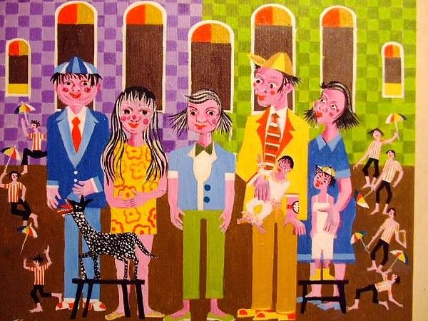 Bonecoes Medida 50x40 A.s.t Painting by Aecio  Andrade