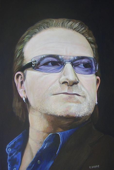 Bono Painting - Bono by Eamon Doyle