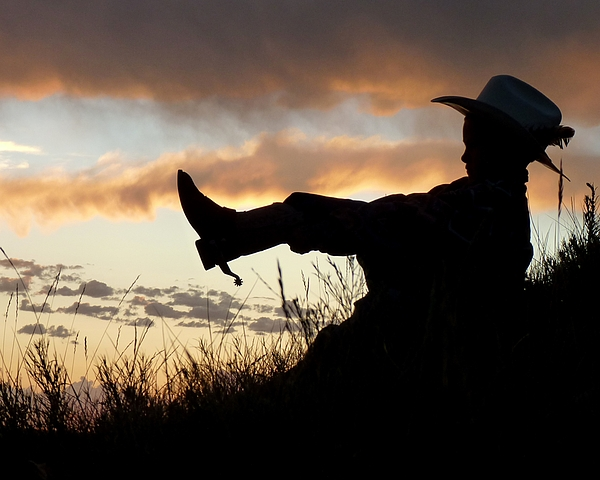 Cowboy Photograph - Boots On by Carla Froshaug