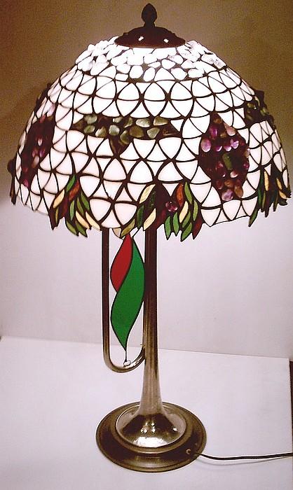 Glass Glass Art - Boris Godunov Lamp by Greg Gierlowski
