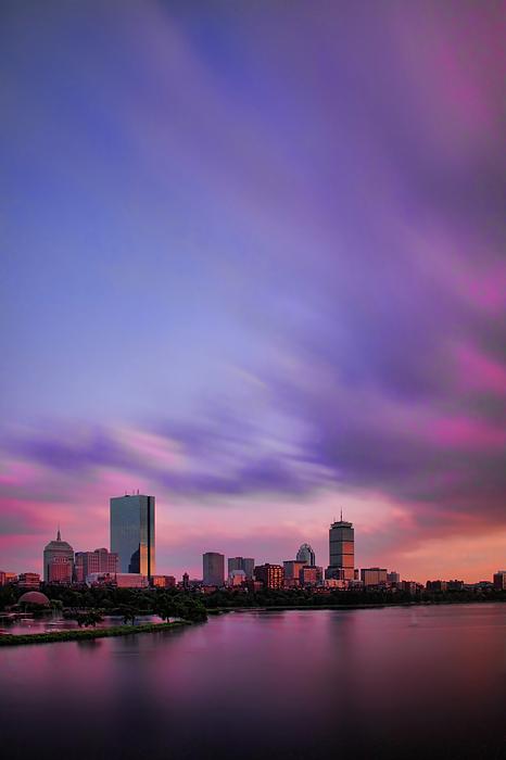 Boston Photograph - Boston Afterglow by Rick Berk