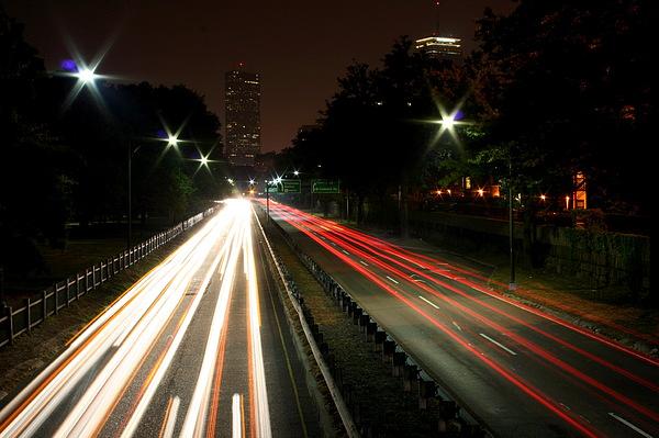 Boston Photograph - Boston Highway by Jason Hochman