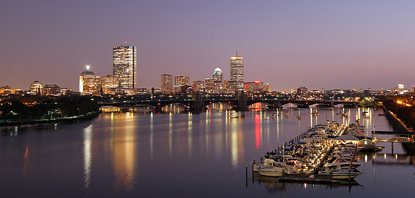 Boston Photograph - Boston Skyline Photography by Juergen Roth