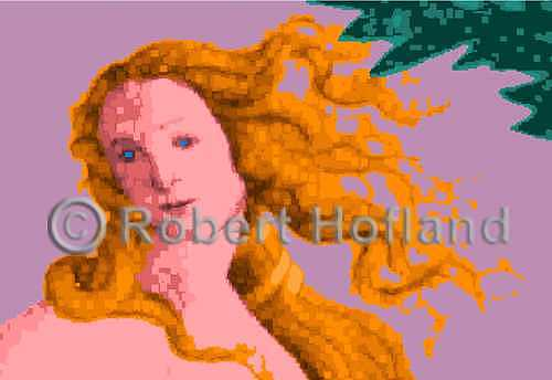 Venus Digital Art - Botticelli Venus by Robert Hofland
