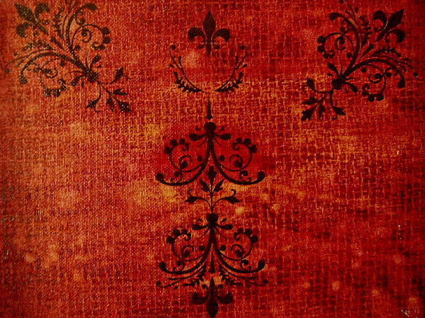 Red Painting - Boudoir Three by Laurette Escobar