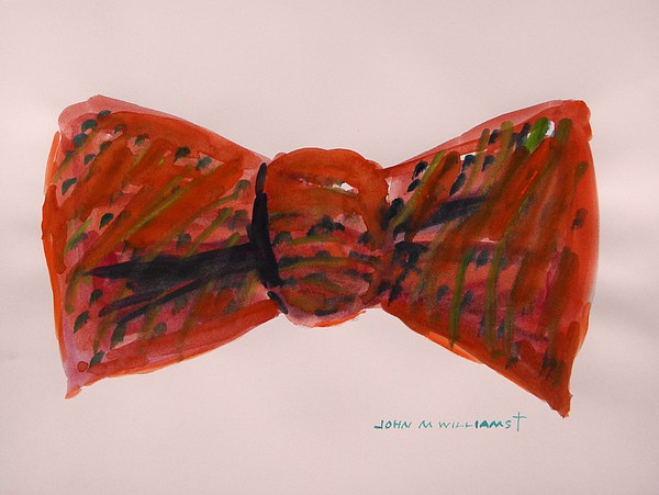 Bowtie Painting - Bowtie 1 by John Williams