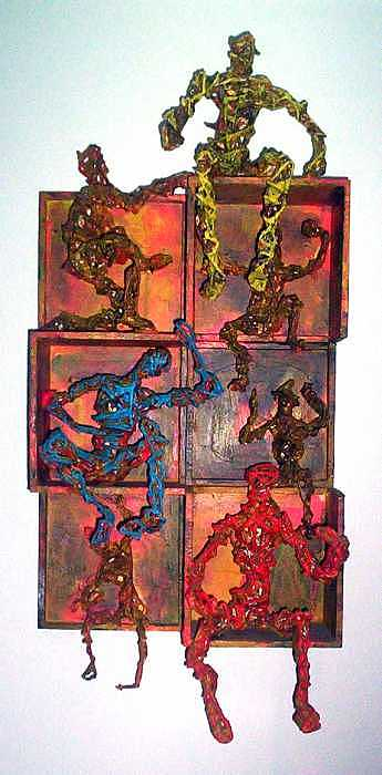 Boxed Up Mixed Media by Don Thibodeaux