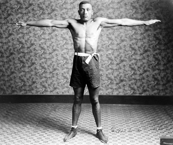1920s Photograph - Boxing. Boxer Tut Jackson, Ca. 1922 by Everett