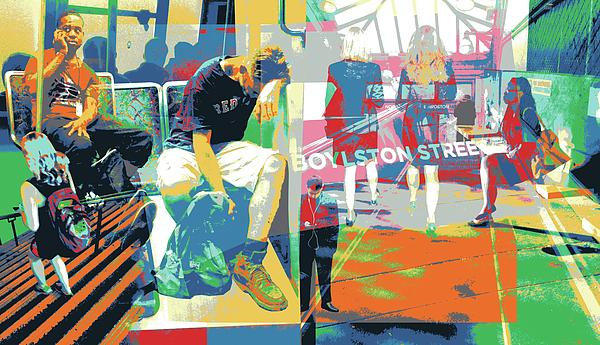 Boylston Mixed Media - Boylston by Shay Culligan