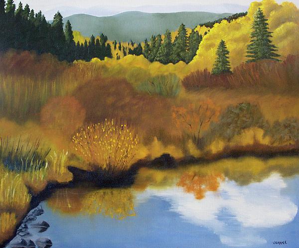 Landscape Painting - Bragg Creek by Joanne Giesbrecht