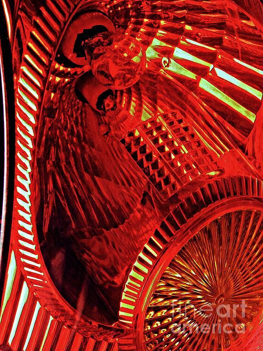 Brake Light Photograph - Brake Light 42 by Sarah Loft