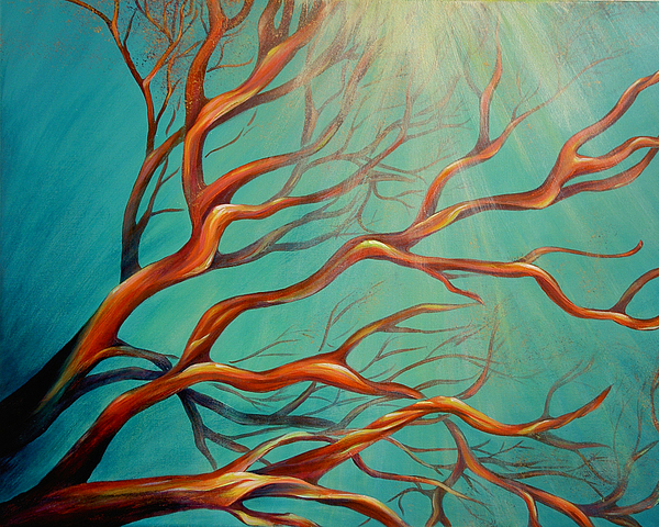 Branching Out Painting by Dina Dargo