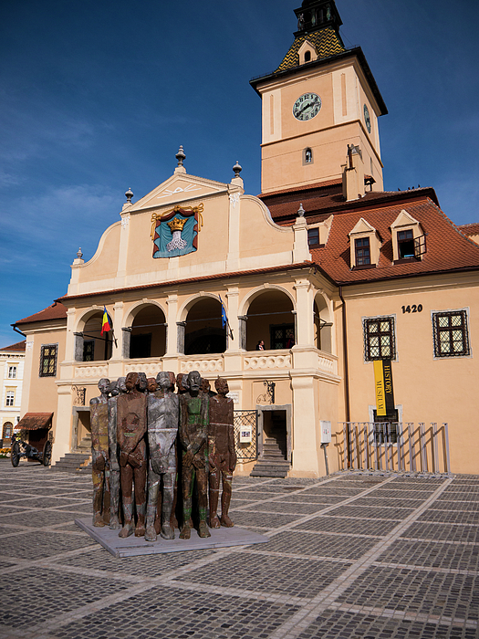 Brasov Photograph - Brasov Town Hall by Rae Tucker