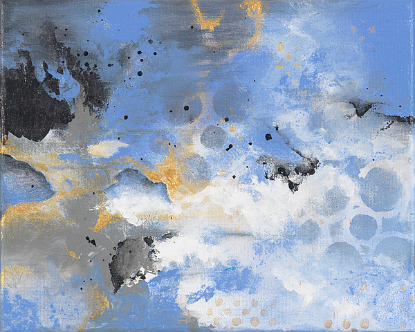 Contemporary Painting - Breaking Storm by Jenny Bagwill