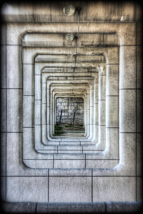 Abstract Photograph - Breaking Through The Forth Wall by David LaSpina