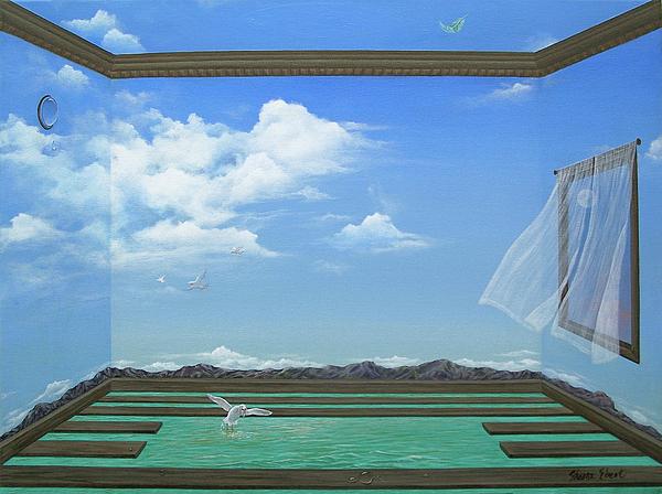 Room Painting - Breathing Room by Sharon Ebert