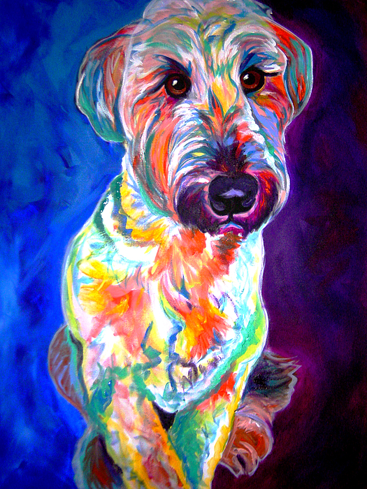 Briard Painting - Briard - Albert by Alicia VanNoy Call