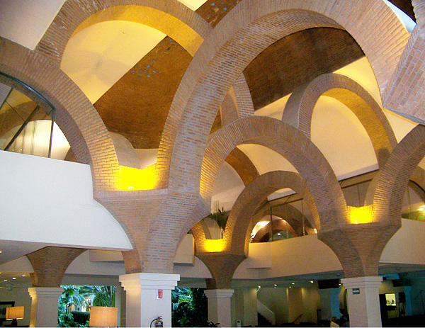 Architecture Pyrography - Brick Arches by George Pasini