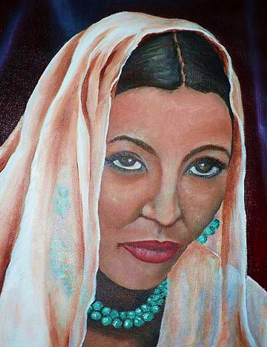 Brideprice Painting by Alima Newton